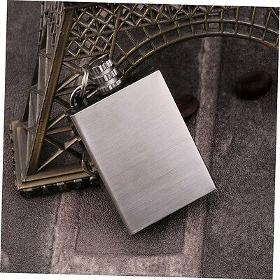 Survival Camping Emergency Fire Starter Flint Match Lighter Key Chain Square BY