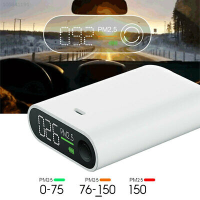 BE2D 3W Smog Detector Smog Measuring Instrument White Air Detector Durable