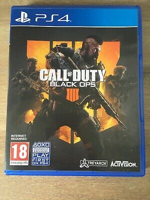 Call of Duty : Black Ops 4 (PS4) - Great Condition!