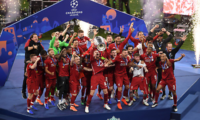 Liverpool Champions League - Madrid Football History Poster / Canvas Pictures