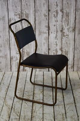 Vintage Industrial Stacking Mid Century Cafe Bar Kitchen Chair (12 Available)