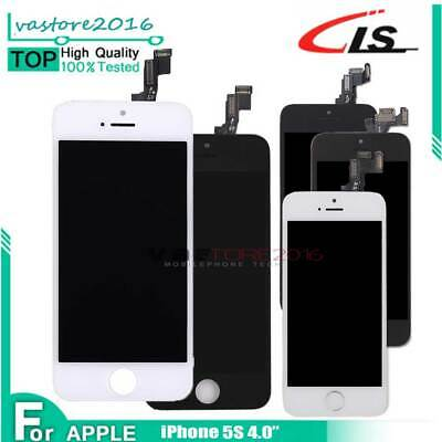 Touch Screen DISPLAY Per iPhone 5S LCD ASSEMBLATO COMPLETO SCHERMO VETRO TOTALE