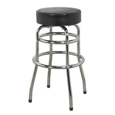 Workshop Stool with Swivel Seat Sealey SCR13 by Sealey