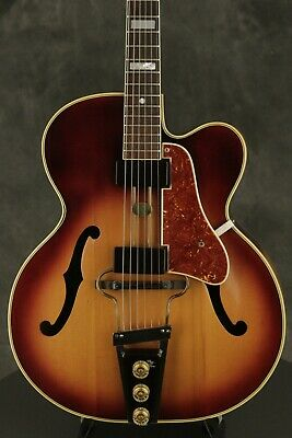 early 1950's VEGA E-400 Duo-Tron electric archtop SOLID CARVED TOP!!!