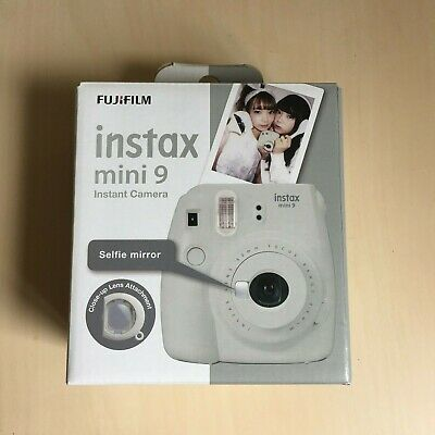 FUJIFILM Instax Mini 9 smoky white Instant Film Camera