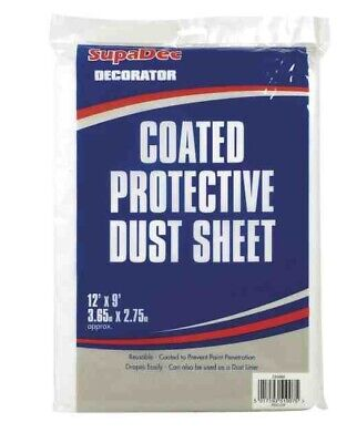 SupaDec Coated Protective Dust sheet 3.65 x 2.75m