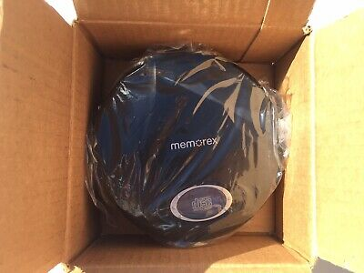 Refrub Memorex Personal Portable CD Player MD6451BLK Ear Buds Skip Protect LCD