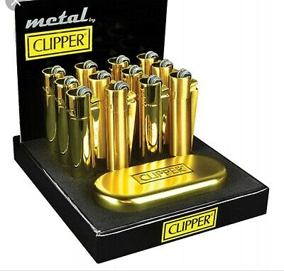 CLIPPER large GOLD Metal nuovo