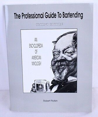 The Professional Guide to Bartending 2nd Edition Pub Cocktail Drink Mixing
