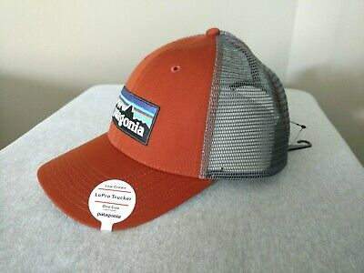 0c856fa0 Patagonia P-6 Logo LoPro Trucker Hat - NEW WITH TAGS - Copper/Orange