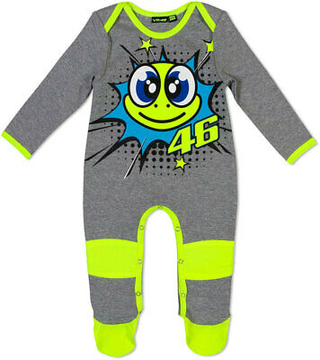 Valentino Rossi Vr46 Pop Art Baby Grow New Size 6 Months