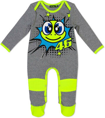 Valentino Rossi Vr46 Pop Art Baby Grow New Size 12 Months