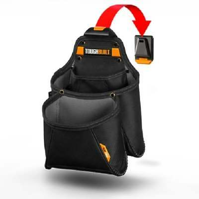 Toughbuilt TB-CT-03 Work Pouch Mega Supply Pouch With Clip Tech Hubs