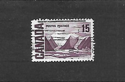CANADA STAMP #463vi (USED) FROM 1967-72