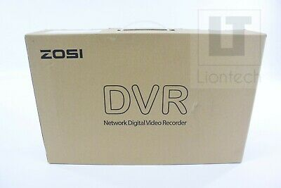 Zosi 1080P Full HD 16 Channel Security Camera 4-in-1 Security DVR ZR16JK00