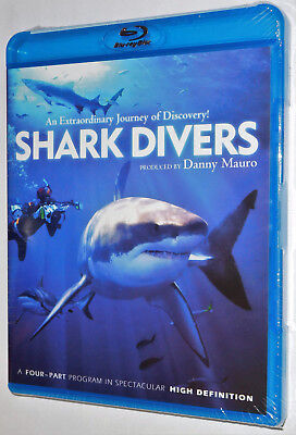 SHARK DIVERS Blu-Ray 4 Part Educational Documentary Series Brand New n' Sealed!