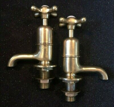 Vintage / Antique Brass basin taps