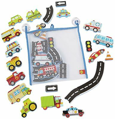 Alex BEEP BEEP STICKERS IN THE TUB Baby Bathtime Toys Bathing Grooming - NEW