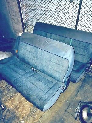 Marvelous Ford Aerostar 1992 Rear Seats Pair Both Middle Rear Row Unemploymentrelief Wooden Chair Designs For Living Room Unemploymentrelieforg