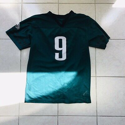 e4f51607ed3 PHILADELPHIA EAGLES Nick Foles #9 Football NFL Apparel JERSEY Y M used  Bootleg