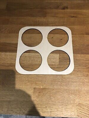 Football Half Time Pint Glass Drinks Tray Holder