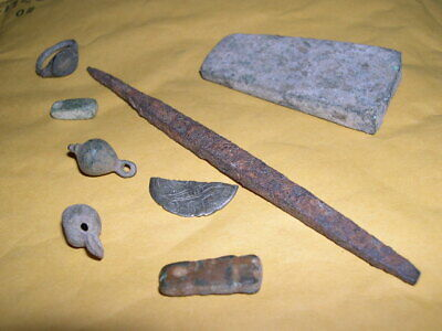 Ancient Roman Artifacts, Bronze & Iron, from a New Your Collection