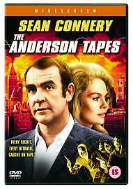 The Anderson Tapes Genuine R2 Dvd Sean Connery Dyan Cannon Martin Balsam Vgc