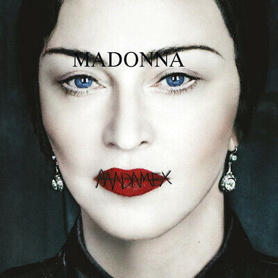 Madonna MADAME X Gatefold INTERSCOPE RECORDS New Sealed Black Vinyl Record 2 LP