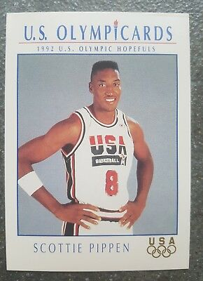 US Olymp Cards Scottie Pippen OS 1992 Nr. 15 Trading Card