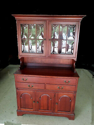 Antique Wood China Cabinet French
