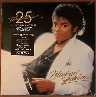 MICHAEL JACKSON ~ Thriller 25th Anniversary 2LP GATEFOLD (NEW & SEALED)