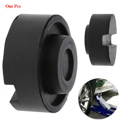 Adapter Black  Lifting Jack Pinch Weld Side Pad Rubber Block Crane Tool Pad