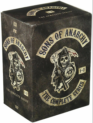 Sons of Anarchy:The Complete Series Seasons 1-7 (DVD, 2015, 30-Disc Set) Sealed!