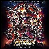 Avengers: Infinity War, Alan Silvestri, Audio CD, New, FREE & Fast Delivery