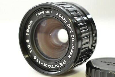 *As is* PENTAX-110 18mm f/2.8 Wide angle Lens From JAPAN #2256