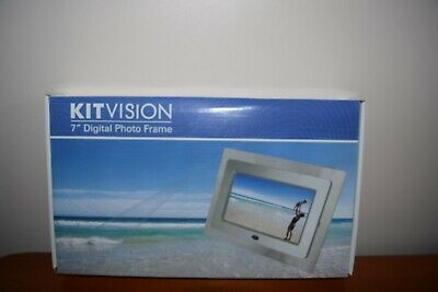 Digital Photo Frame 7 inch by Kitvision Brand new - Boxed