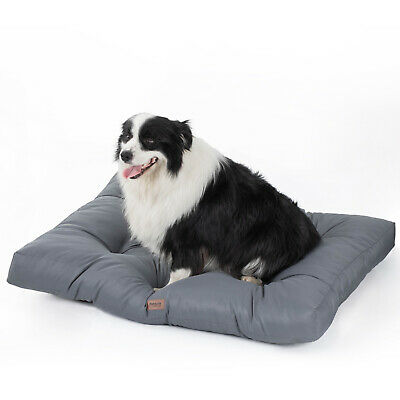 Bedsure Chew Proof Oxford Fabric Waterproof Washable Dog Mattress for Dog Cat