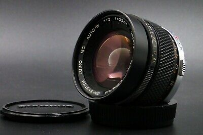【EXCELLENT+++++】Olympus OM System Zuiko MC Auto W 35mm f/2 Wide Lens from Japan