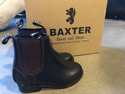 Baxter Tuffy Kids Toddler Leather Boots 6