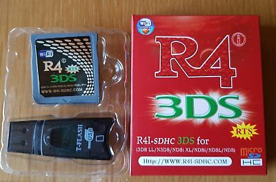 R4 3DS Card Cartridge R4 SDHC 3DS for 3Ds LL/ N3Ds NDSi XL/ NDsi / NDsL NdS hot