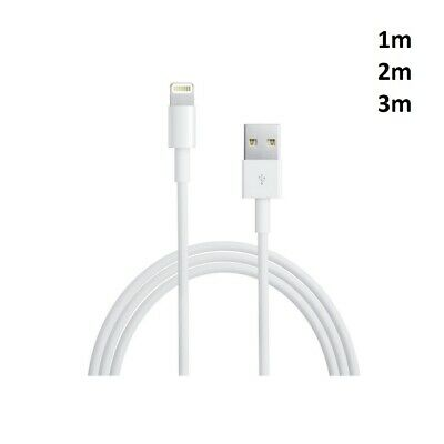 Genuine Apple iPhone 1M,2M 3Meter Sync Charger Cable for iPhone 6,5C,7,X,XI iPad