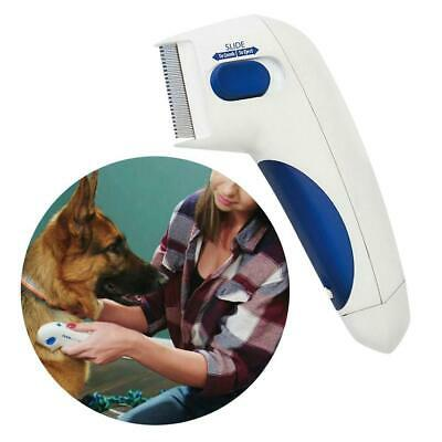 Pet Electric Brush Dog Brush Comb Kills Flea Pet Supplies Great for Dogs Cats