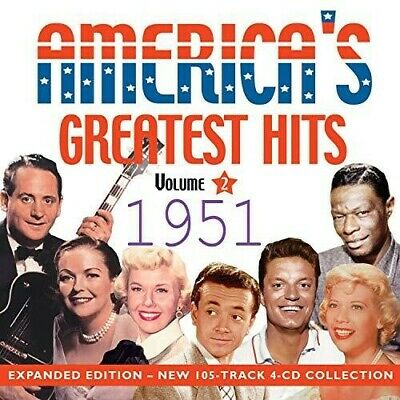 Various Artist - America's Greatest Hits 1951 [CD New]