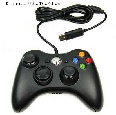 New Wired USB Game Pad Controller For Microsoft Xbox 360 PC Windows XP 7