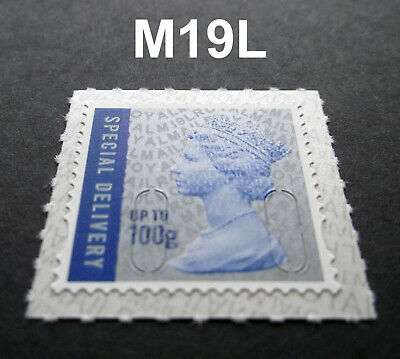 NEW JUNE 2019 SPECIAL DELIVERY 100g M19L MACHIN SINGLE from Counter Sheet