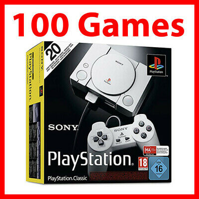PlayStation Classic Console With 100 Games