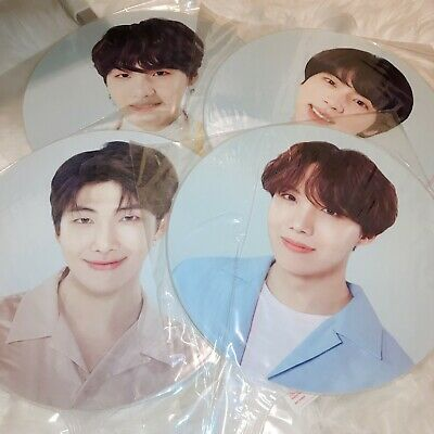 BTS Official Image Hand Picket Fan Love Yourself Tour Merch RM Jin Suga J-hope