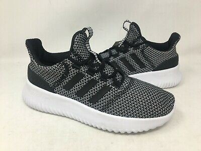 ad117646801b6 Adidas Youth Cloudfoam Ultimate Black/White Running Shoes #AQ1689 G15D m