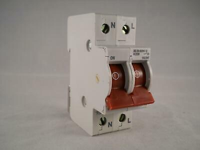 Crabtree Starbreaker 100 Amp Main Switch Disconnector 100A Double Pole 100/2MT