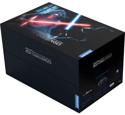 New! Lenovo Star Wars Jedi Challenges AR Headset Game with Lightsaber Controller